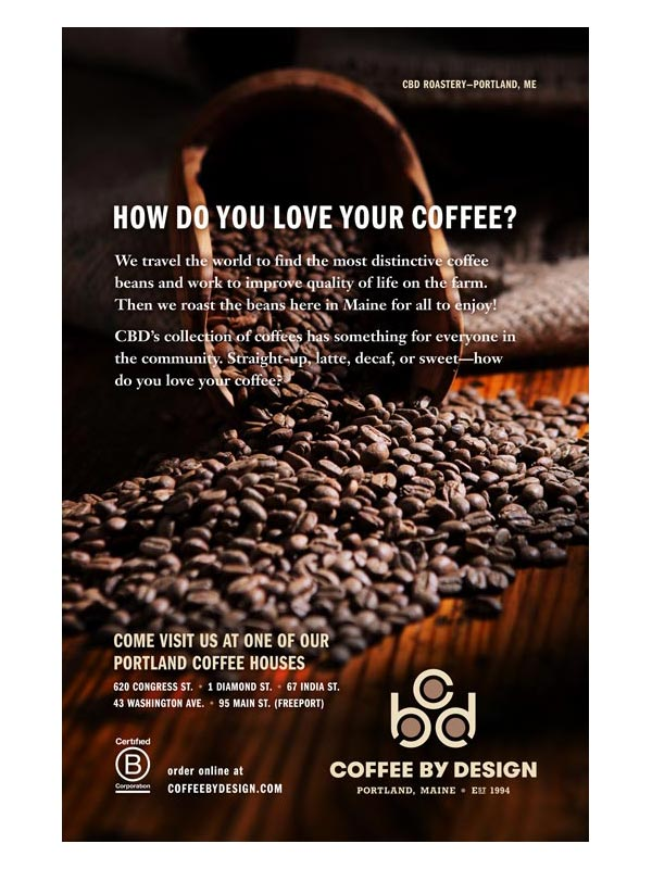 Coffee By Design Toderico Creative